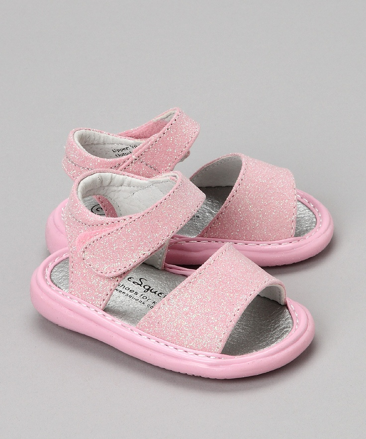 squeaker shoes are the way to go! you never have to wonder where your