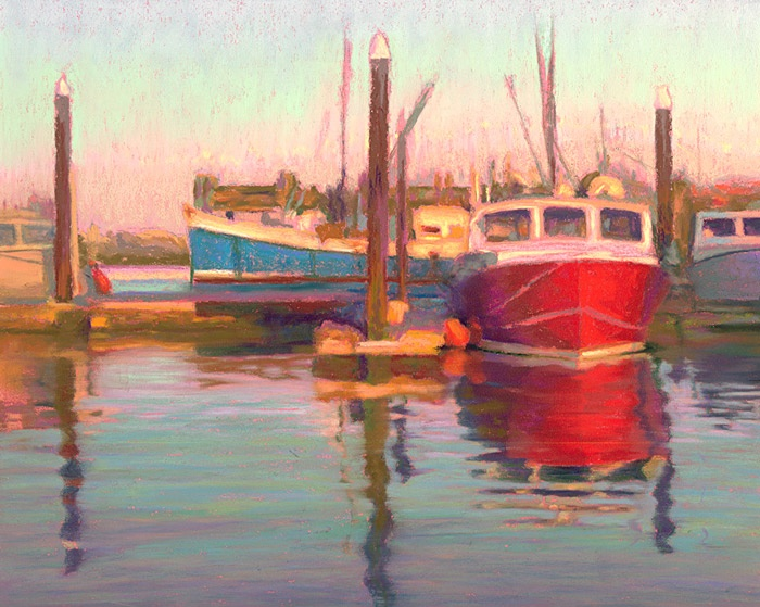 Pin by donna crocker chambers on art pinterest for Fishing boat painting