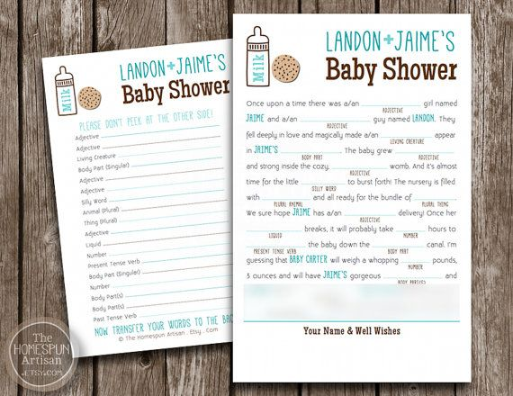 more like this mad libs baby shower games and shower games