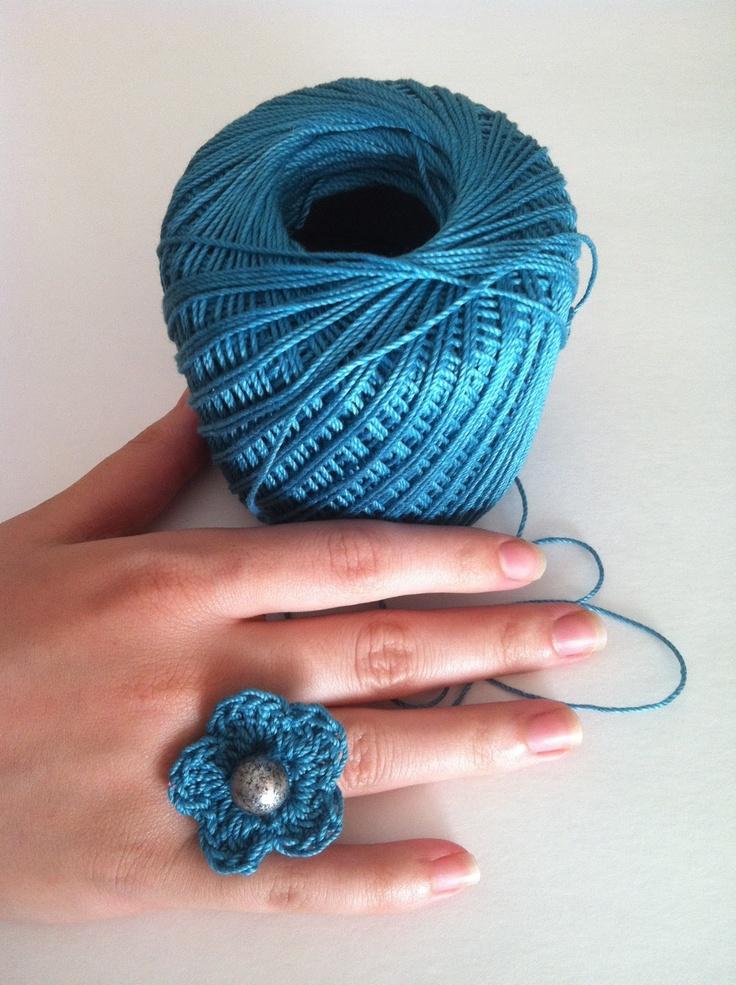 Crochet Stitch Rings Of Love : Crochet Rings