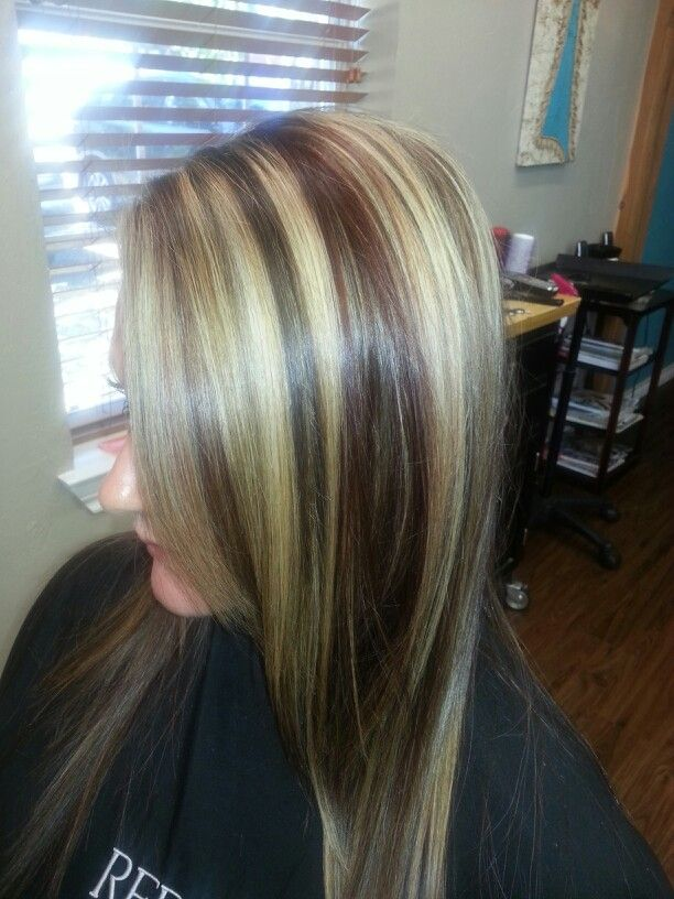Bold blonde highlights brown hair hairs picture gallery bold blonde highlights brown hair photos pmusecretfo Choice Image