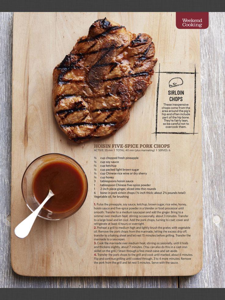 Five-Spice Pork Chops Recipes — Dishmaps