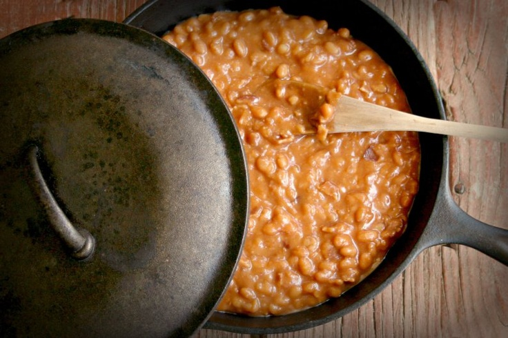 Stove Top Baked Beans by Where Flours Bloom. A richly flavored stove ...