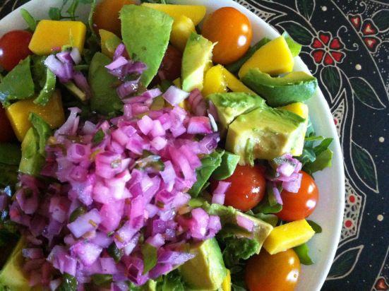 Mango and Arugula salad | Food Monster | Pinterest