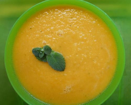 Cantaloupe And Yogurt Soup With Ginger, Lime And Mint ...