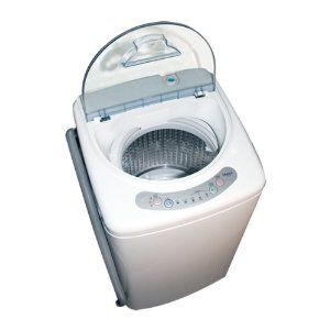 #2: Haier HLP21N Pulsator 1-Cubic-Foot Portable Washer