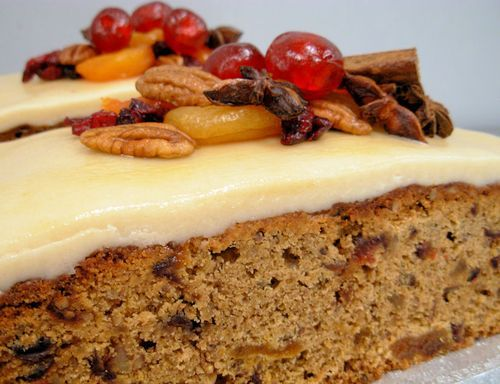 ... loafs | Baked Cakes: Cranbury,Pecan and Ginger Christmas Loaf