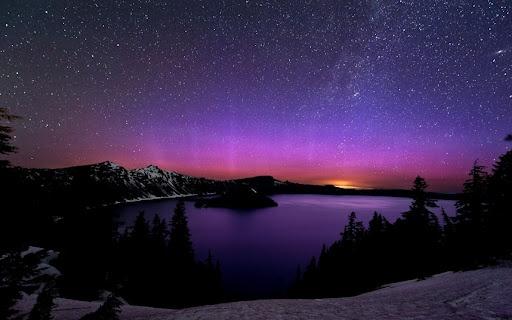 purple aurora borealis wallpapers x - photo #43