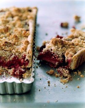 Raspberry crumble tart | food/baking- sweets&desserts&icecream&ca...