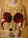 Ding! Ding! We have a winner! Funniest Ugly Christmas Sweater ever