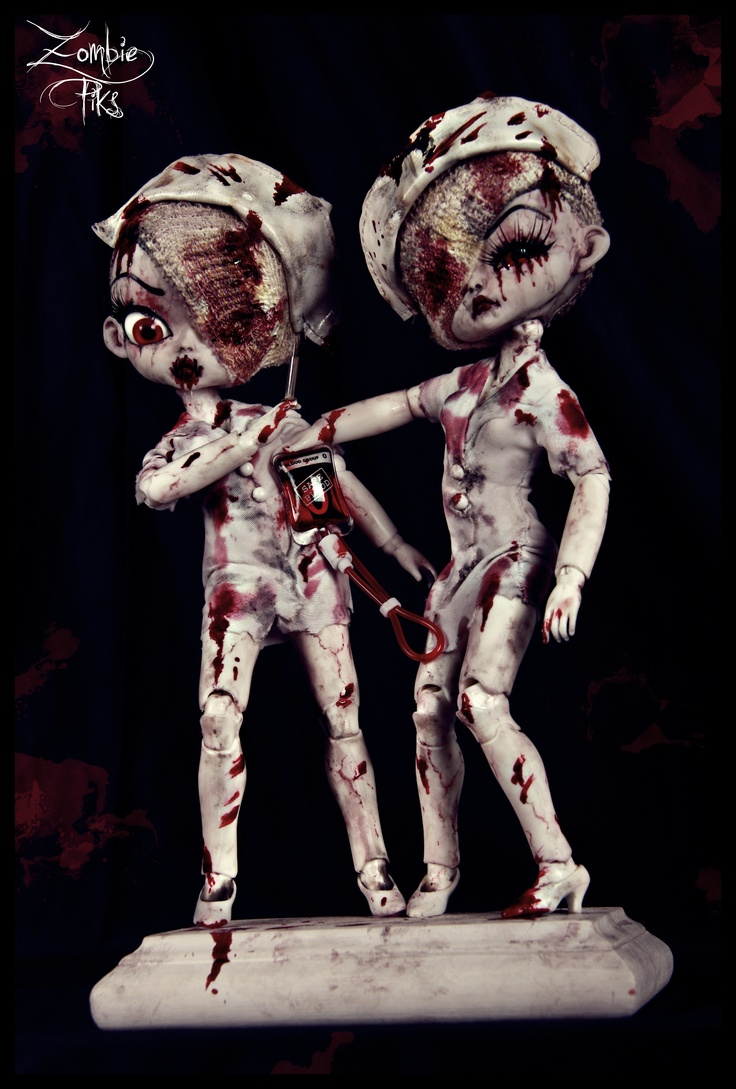 """""""Horror Hospital"""" by Sally's Song Dolls"""