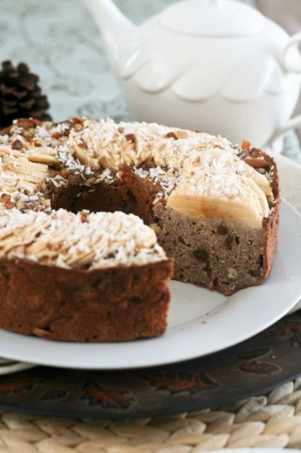Totally Healthy, Vegan and Grain Free Buckwheat Apple Ring Cake | Rec ...