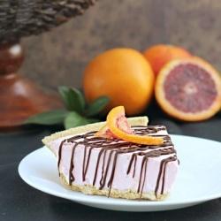 Blood Orange Ice Box Pie | dessert should be mandatory | Pinterest