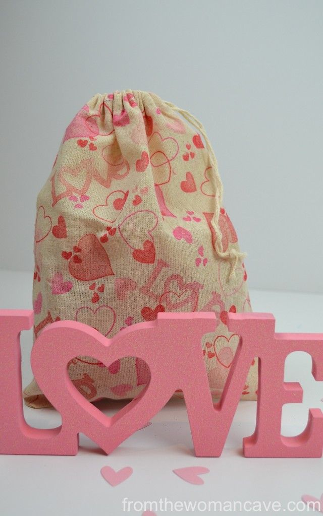 valentine day bags to make