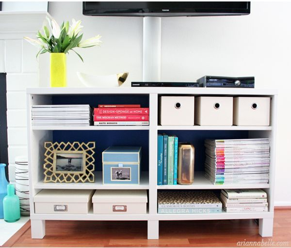 Organized media unit living rooms pinterest for Living room organization