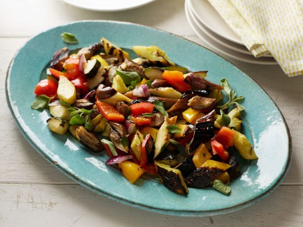 Recipe of the Day: Bobby's Grilled Ratatouille  Let summertime produce, like zucchini, squash and tomatoes, shine in this quick-fix ratatouille, dressed up with fresh herbs before serving.