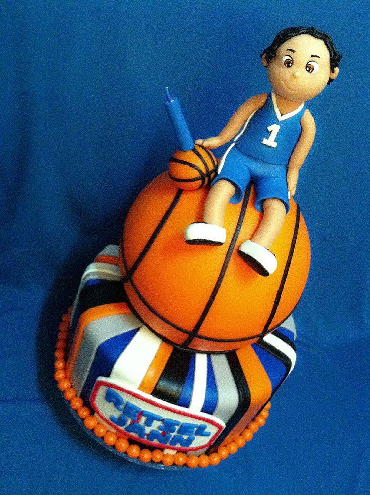 Basketball Themed Cake Pops
