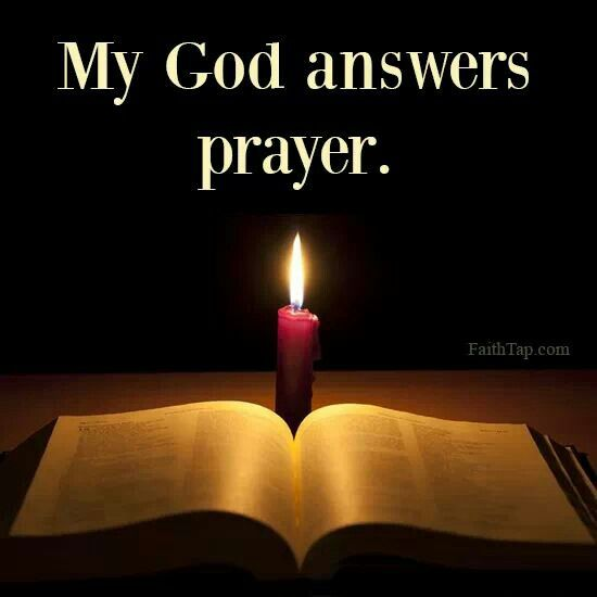 god answers prayers The christian can have confidence that god hears his prayer we know that god  commands us to pray and he also assures us that he answers our prayers.