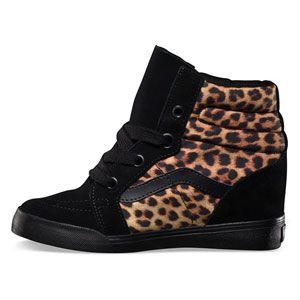 VANS Sk8-Hi Wedge Womens Shoes $75