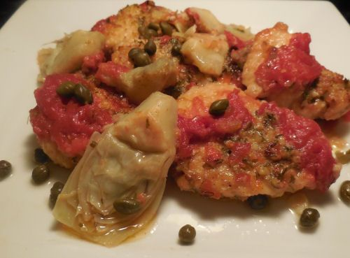 Recipes Just 4U | Chicken Piccata with Artichoke hearts. This is the ...