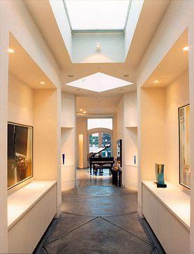 hallway niches and lightning foyer Pinterest