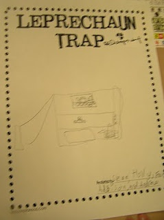 Design and then build a leprechaun trap!