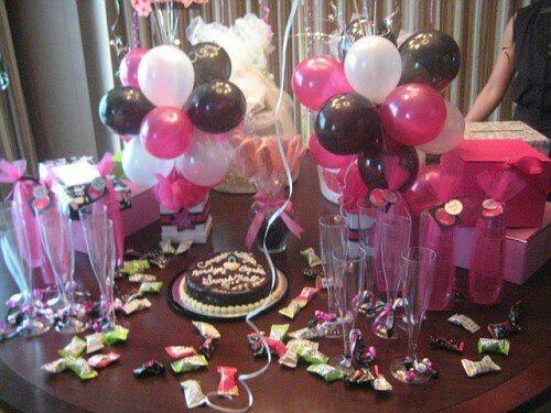 Decoration bachelorette girls night boys night ideas for Bachelorette party decoration ideas diy