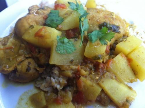Coconut Milk Chicken Curry | Favorite food | Pinterest