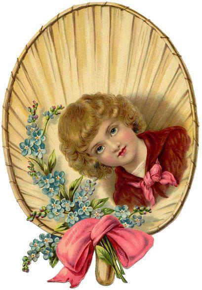 Victorian Flower Clip Art – Vintage Images Download