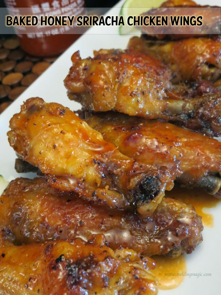 Honey Baked Pistachio Wings Recipe — Dishmaps