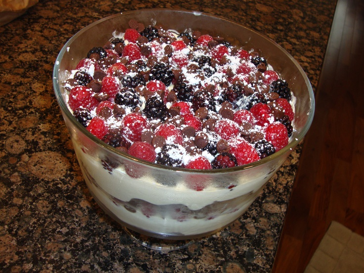 ... brownie berry brownie trifle two peas their pod berry brownie trifle