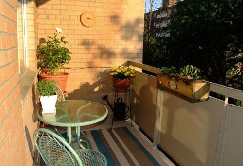 Narrow balcony decor in the garden pinterest for Narrow balcony design ideas