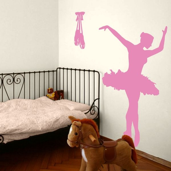 Ballerina Dancer Ballet - Toe Shoes - Vinyl Wall Decals Georgia