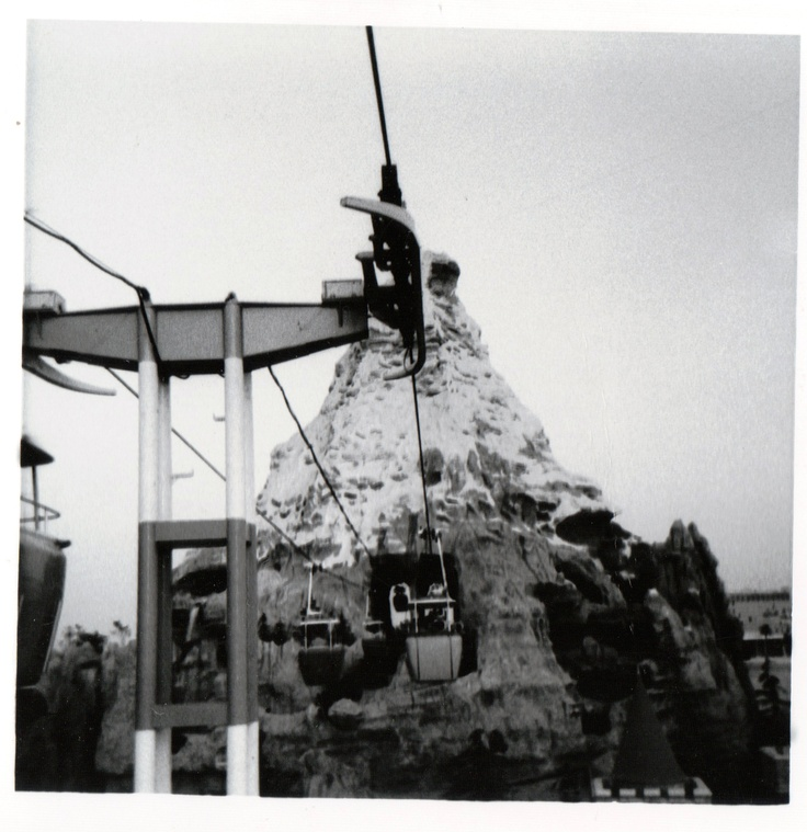 Matterhorn, Disneyland 1967.  Photo taken by my mom.