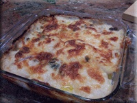 Potato, spinach and prosciutto lasagna | Recipes to try | Pinterest