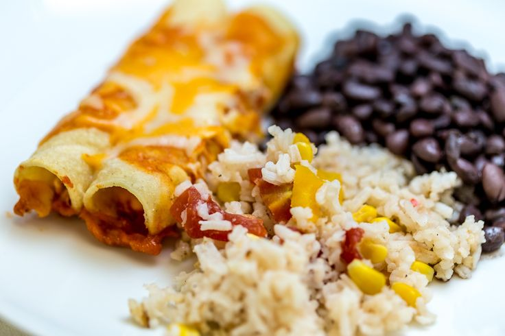 Enchilada Plate | That Catering Company & Event Planning | Pinterest