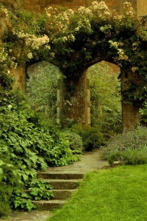 Green Garden Mori Witch Pinterest