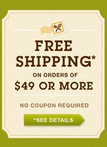 Free shipping on orders over 49 all my canning