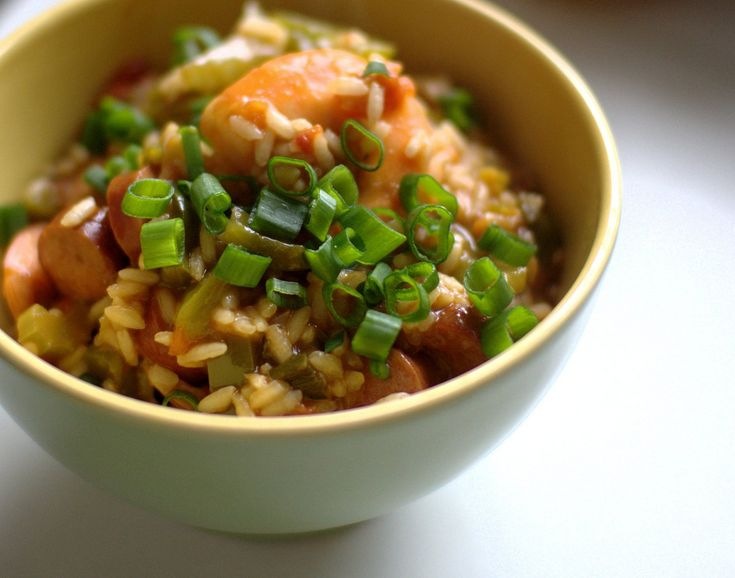Quick and Hearty Jambalaya | Rice and Pasta Dishes | Pinterest