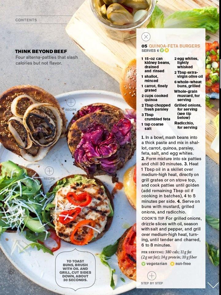 Quinoa Feta Burgers | Lunch/Dinner | Pinterest