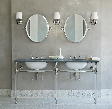 Modern country style 10 reasons to love basins with Double sink washstand