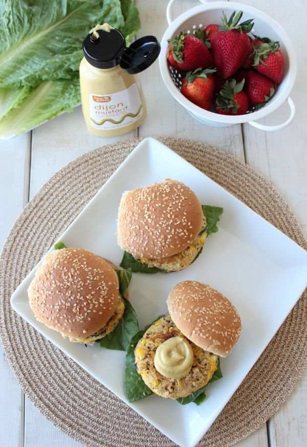 Chickpea Zucchini Quinoa Burgers | Vegetarian Dishes | Pinterest