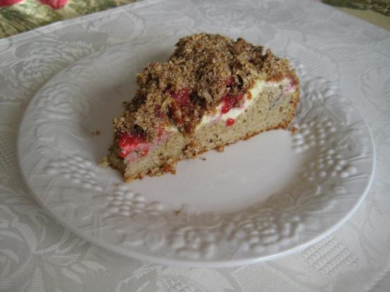LC Raspberry Cream Cheese Coffee Cake | LowCarb Desserts | Pinterest