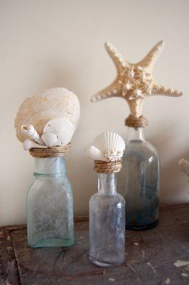 shell bottle toppers