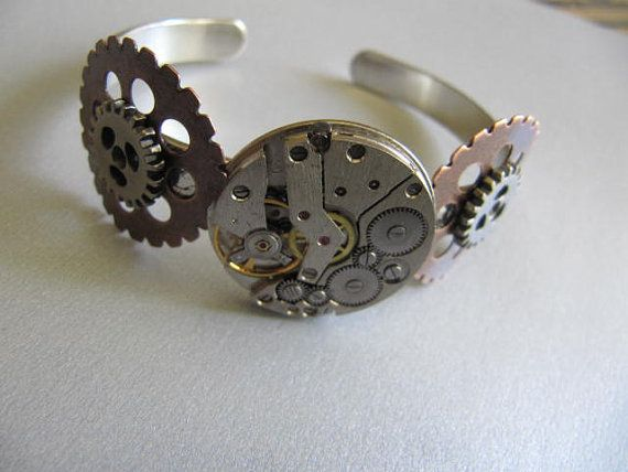 Unisex men women watch parts gears gift ideas under 30 dollars