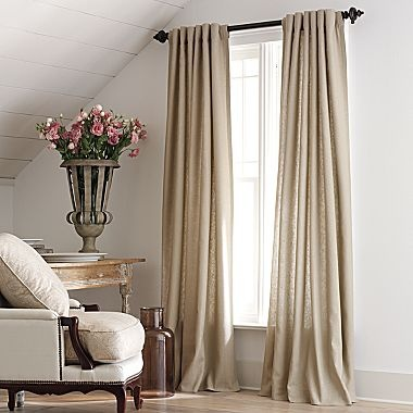 American living linen curtains 40 drapes pinterest for Jcpenney living room curtains