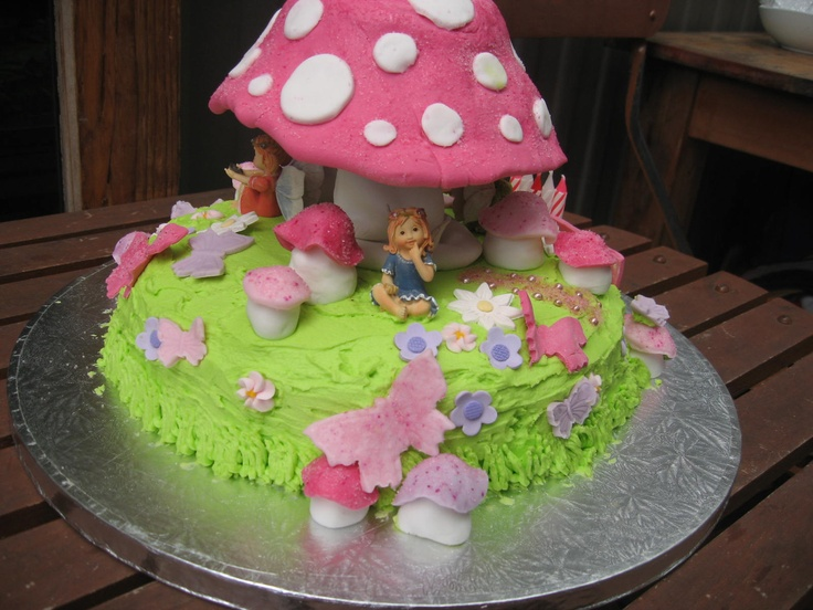 Fairy Garden Cake fascination with cake Pinterest