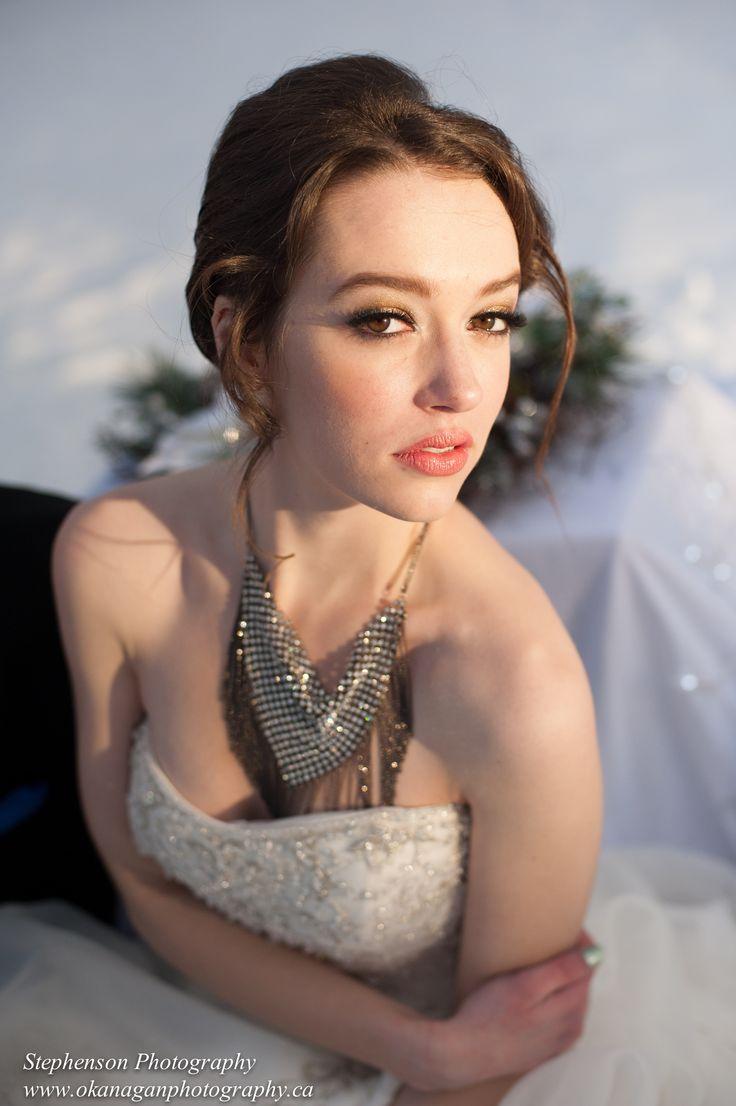 Wedding by Kelowna wedding photographer Stephenson Photography. Hair