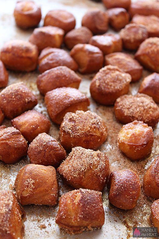 Soft Pretzel Bites - Handle the Heat