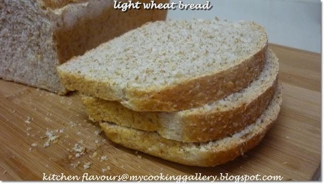 kitchen flavours: Light Wheat Bread | Breads & Rolls | Pinterest